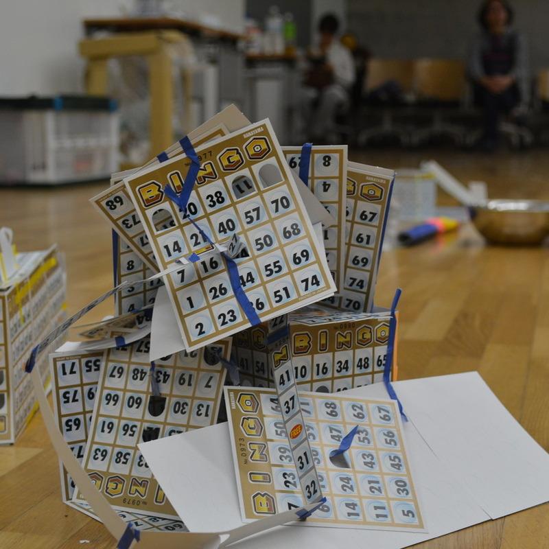 2014年9月21日(日)「ビンゴでつくって工夫する」(小学生クラス)in東大