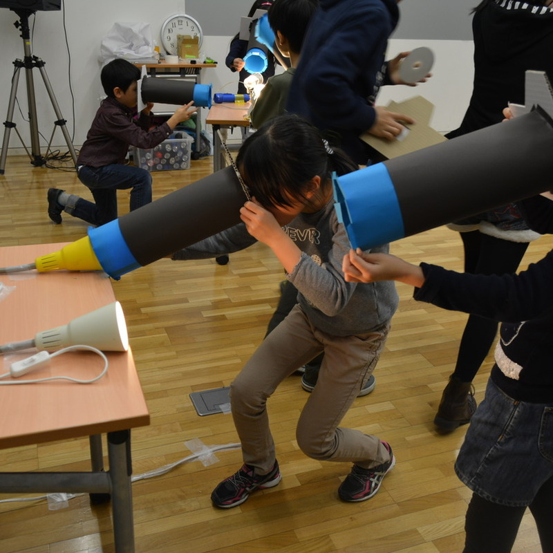 2015年1月25日(日)<br>「レインボーパーティ」<br>(小学生クラス)in東大