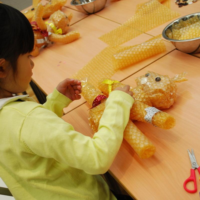 2013年4月21日(日)「ちょっとちがうを感じよう」(幼児クラス)in東大