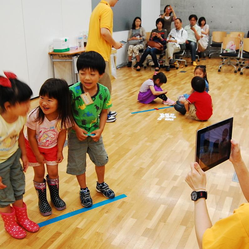 2013年6月16日(日)<br>「じかんの世界であそぶ」<br>(幼児クラス)in東大