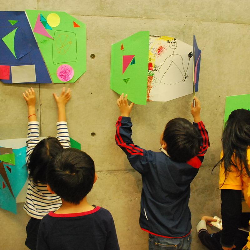 2013年11月17日(日)<br>「デザインでつながろう」<br>(幼児クラス)in東大