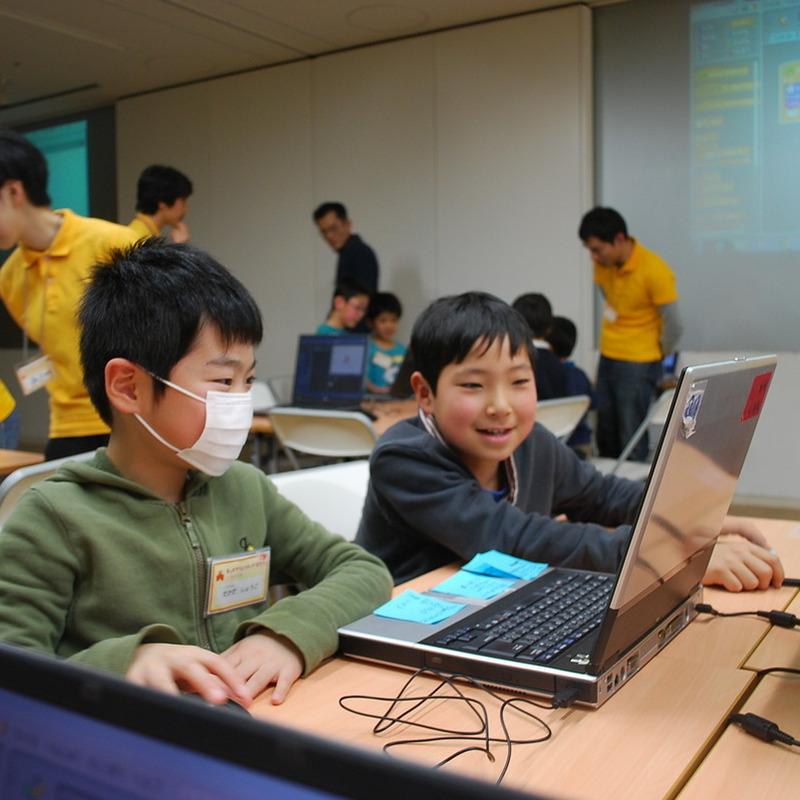 2014年2月16日(日)<br>「自分だけのゲームづくり」<br>(小学生クラス)in東大