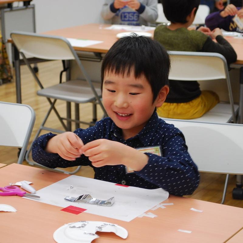 2014年3月16日(日)<br>「アルミホイルでおなおし」<br>(幼児クラス)in東大