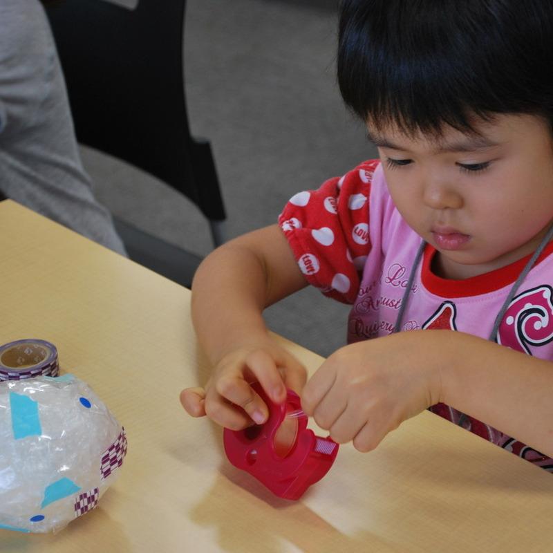 2011年8月14日(日)「ぐるぐるエアパボール」(幼児クラス)in慶應日吉