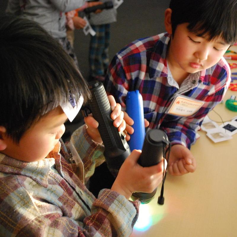 2012年1月29日(日)「カラーパーティー」(小学生クラス)in慶應日吉