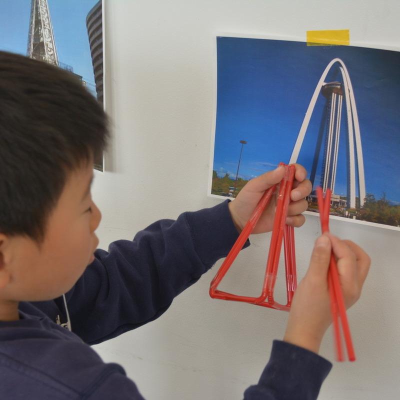 2015年3月15日(日)「ストローでつくるタワー」 (小学生クラス)in六本木