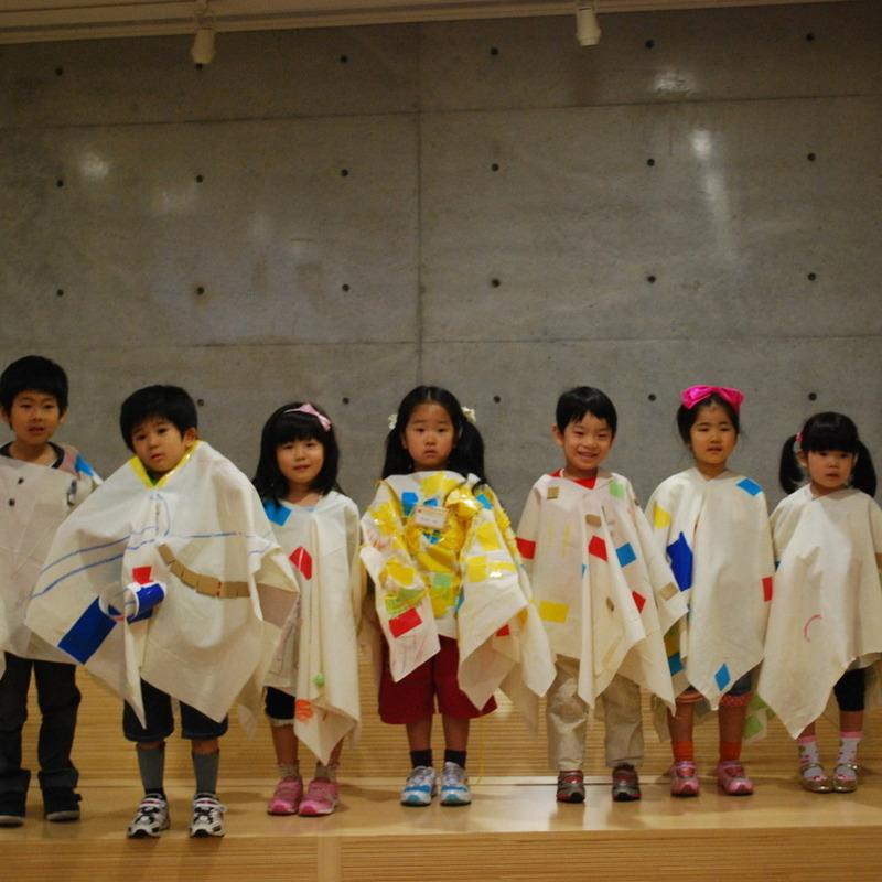2012年5月20日(日)「おおきなふくをつくる」(幼児クラス)in東大