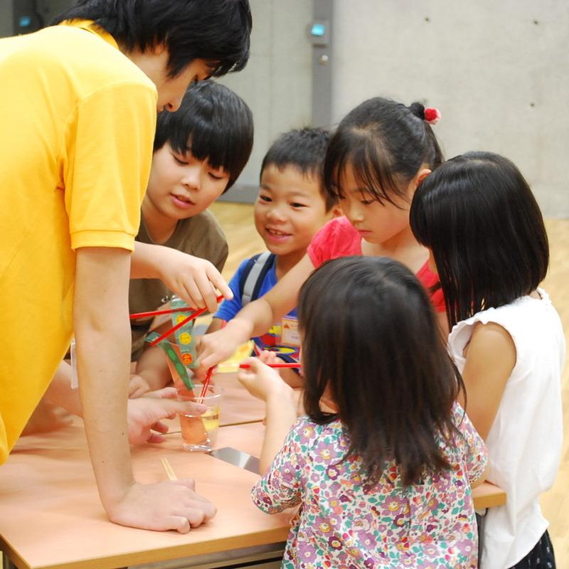 2012年7月15日(日)<br>「ねっつGO!~まわりのお熱をキャッチングー!~」<br>(小学生クラス)in東大