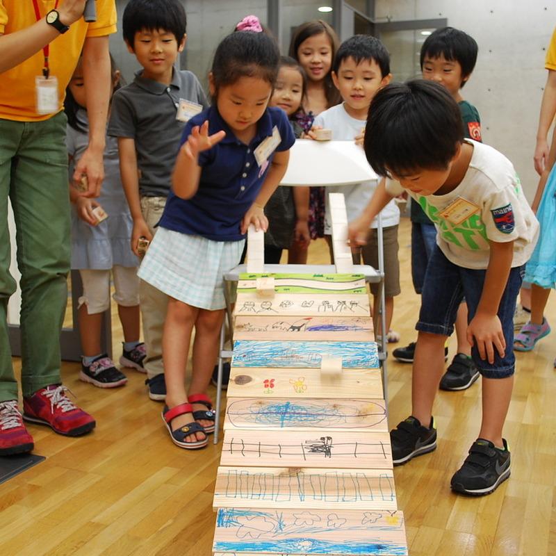 2012年8月19日(日)<br>「ヤスってすべらす」<br>(幼児クラス)in東大