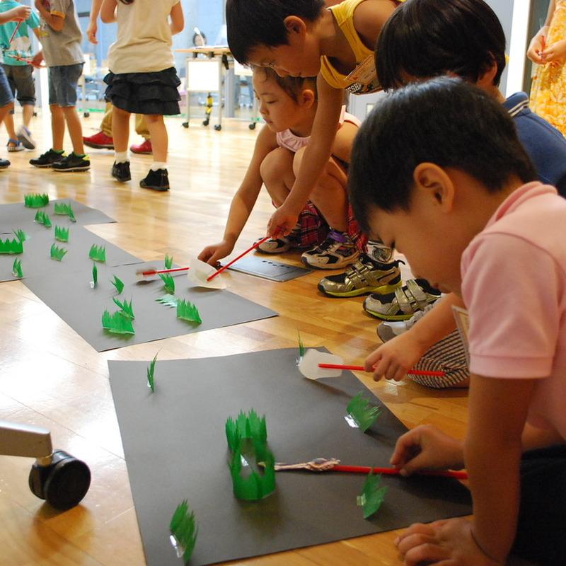2012年9月16日(日)<br>「むしのきもち」<br>(幼児クラス)in東大