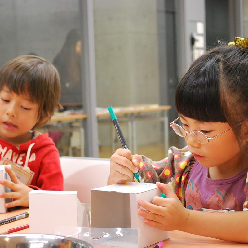 2012年10月21日(日)<br>「フシギなパラパラ影絵箱」<br>(小学生クラス)in東大
