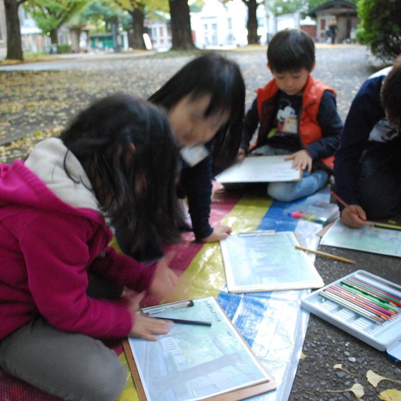 2012年11月18日(日)<br>「いたずら教室」<br>(小学生クラス)in東大