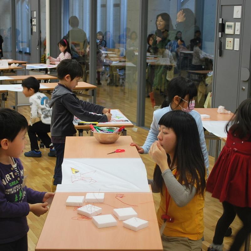 2012年12月16日(日)<br>「ステッチでぬいぬい模様」<br>(幼児クラス)in東大