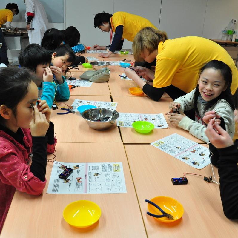 2013年1月27日(日)「ヒューマンサウンダー」(小学生クラス)in東大