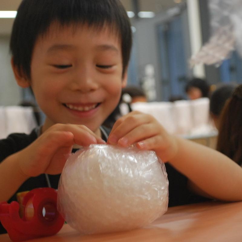 2011年6月19日(日)<br>「ぐるぐるエアパボール」<br>(幼児クラス)in東大