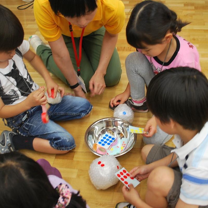 2011年6月19日(日)<br>「はずむエアパボール」<br>(小学生クラス)in東大