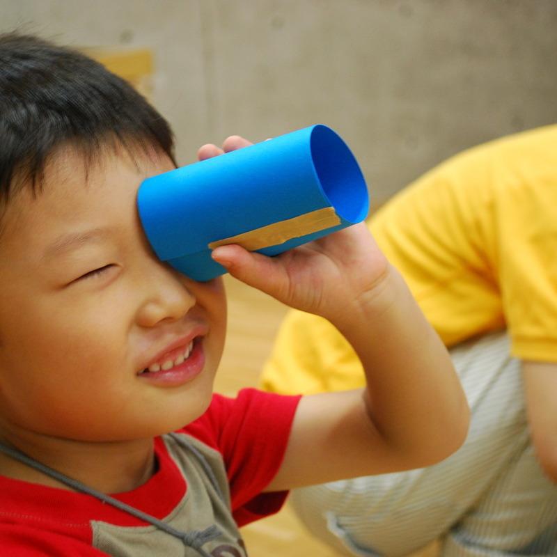 2011年9月18日(日)<br>「カタチでフィルム」<br>(幼児クラス)in東大