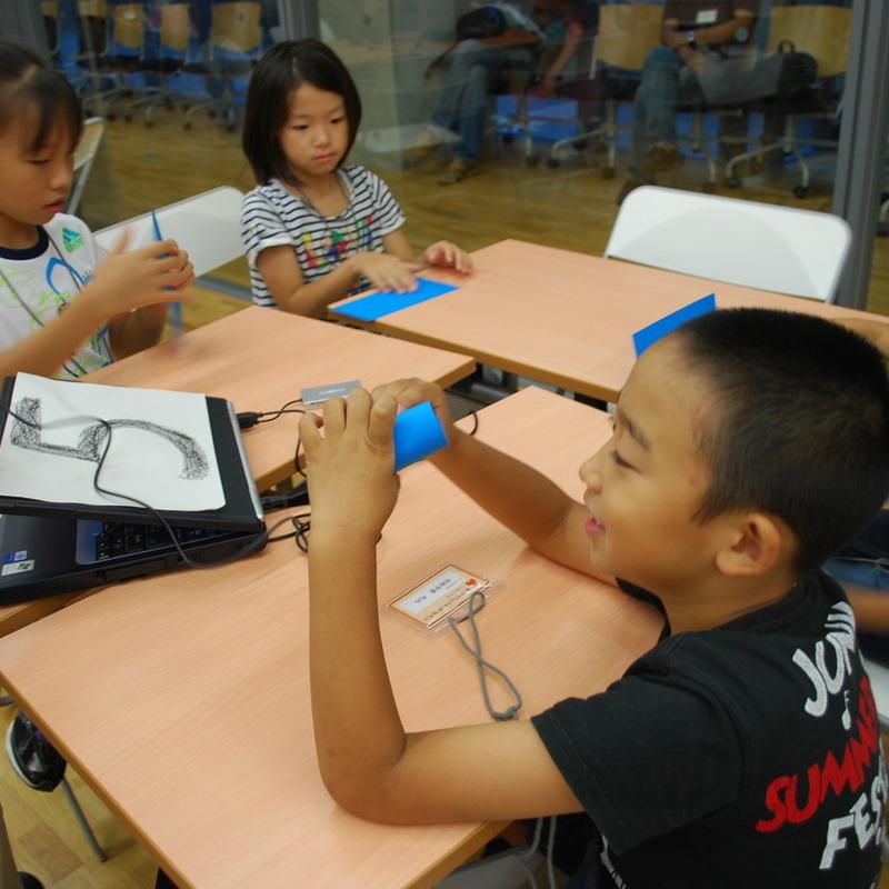2011年9月18日(日)<br>「見立てでフィルム」<br>(小学生クラス)in東大