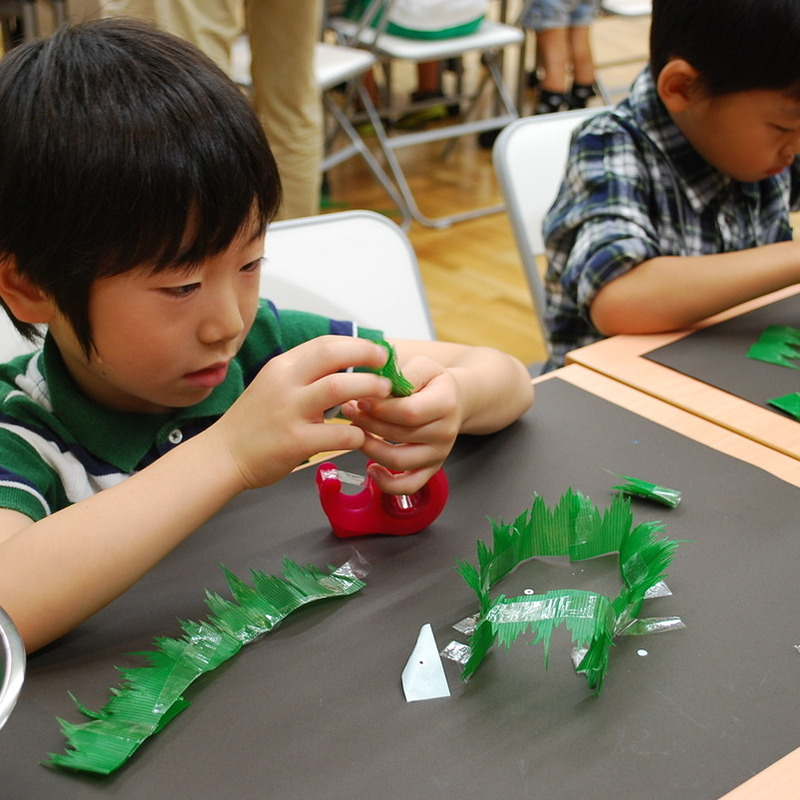 2011年10月16日(日)<br>「バランのお庭」<br>(幼児クラス)in東大
