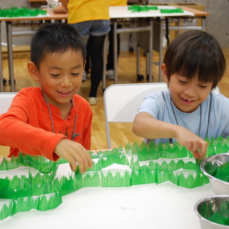 2011年10月16日(日)<br>「バランの囲い」<br>(小学生クラス)in東大
