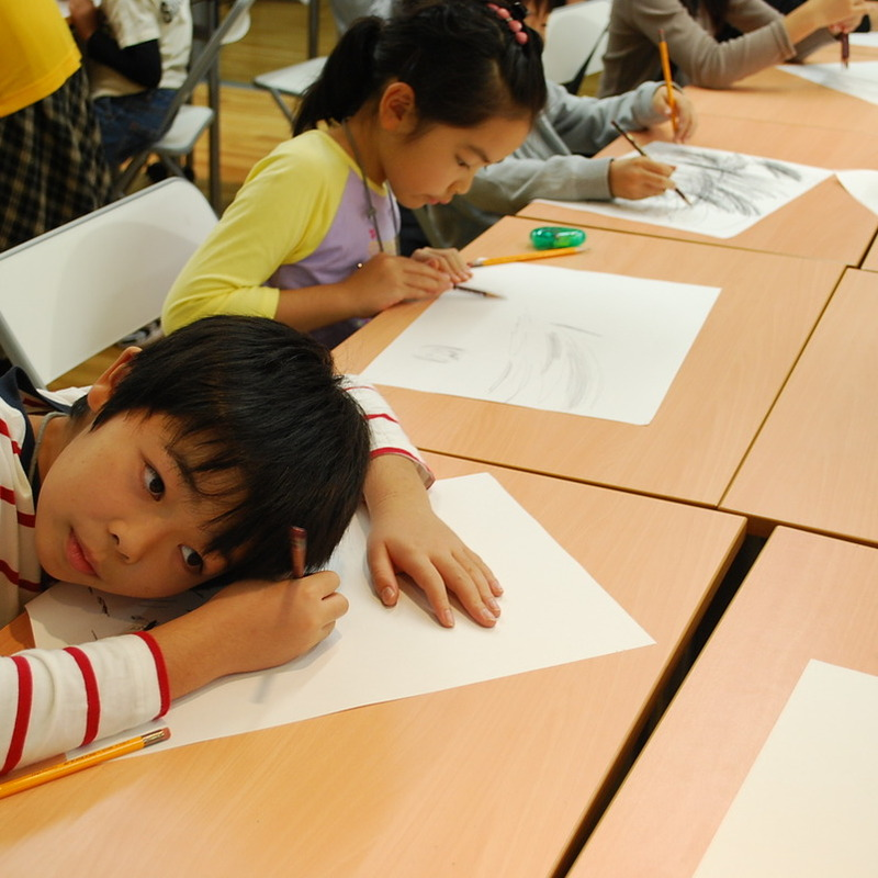2011年11月20日(日)「さわるサウンド -こする・なでる・さする-」(小学生クラス)in東大