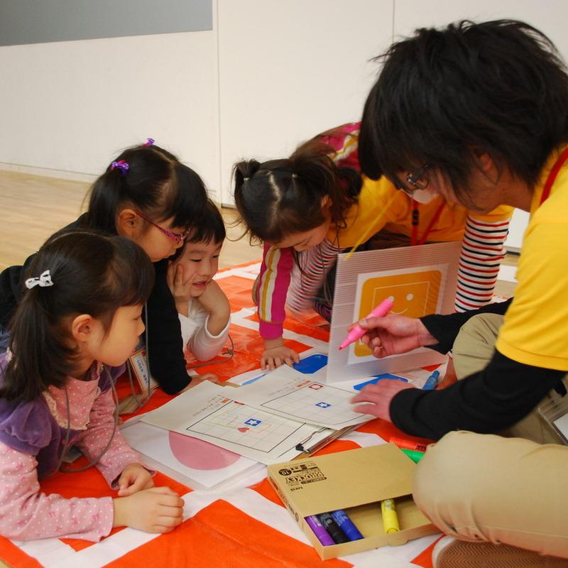 2012年2月19日(日)<br>「こんにちはパソコン スクラッチではじめるプログラミング」<br>(幼児クラス)in東大