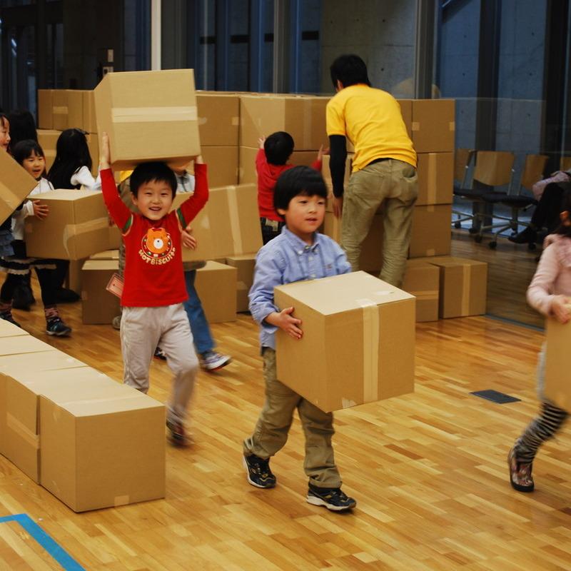 2012年3月18日(日)「真っ暗づくり」(幼児クラス)in東大
