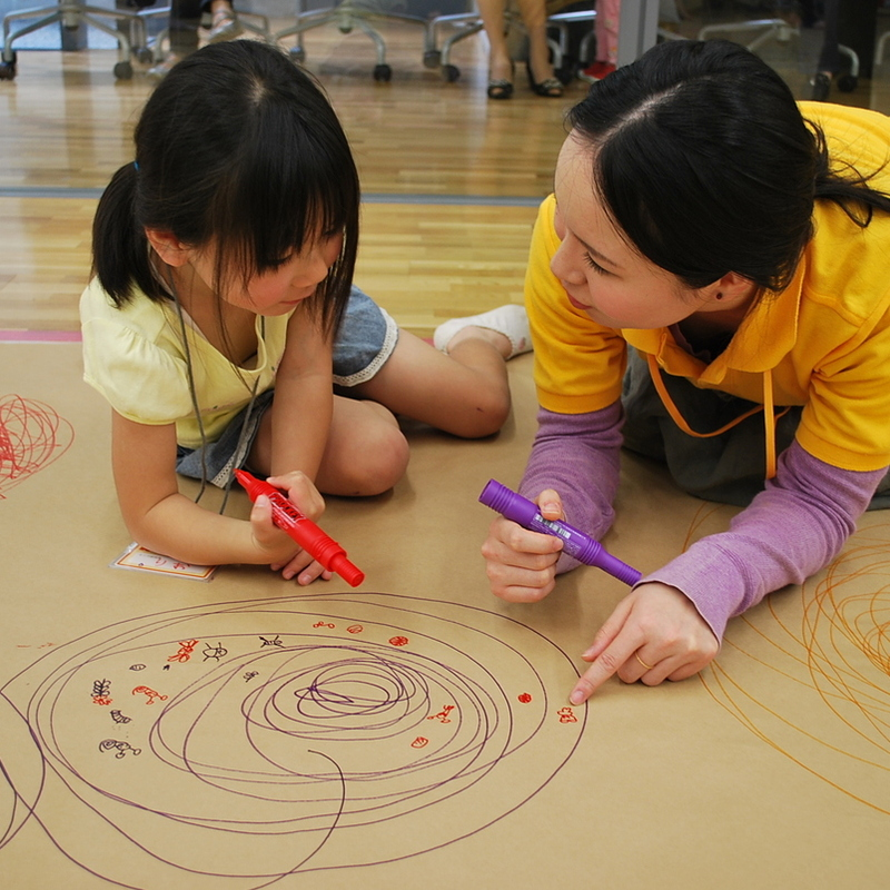 2010年5月16日(日)「つちのなかのグルグルすみか」(幼児クラス)in東大