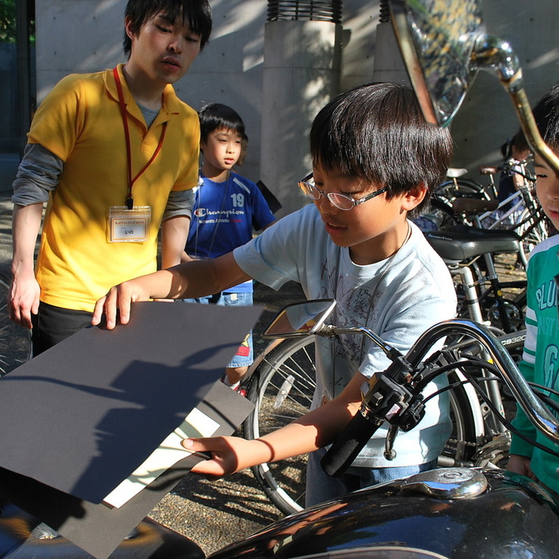 2010年5月16日(日)「青影の写真集づくり」(小学生クラス)in東大