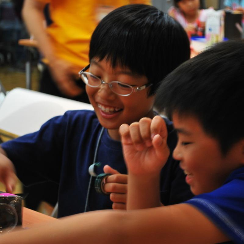 2010年7月18日(日)<br>「カメラづくり」<br>(小学生クラス)in東大