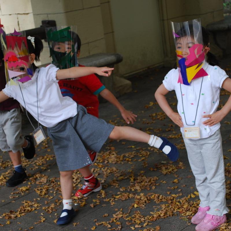 2010年10月17日(日)<br>「モンスターになってみる」<br>(幼児クラス)in東大