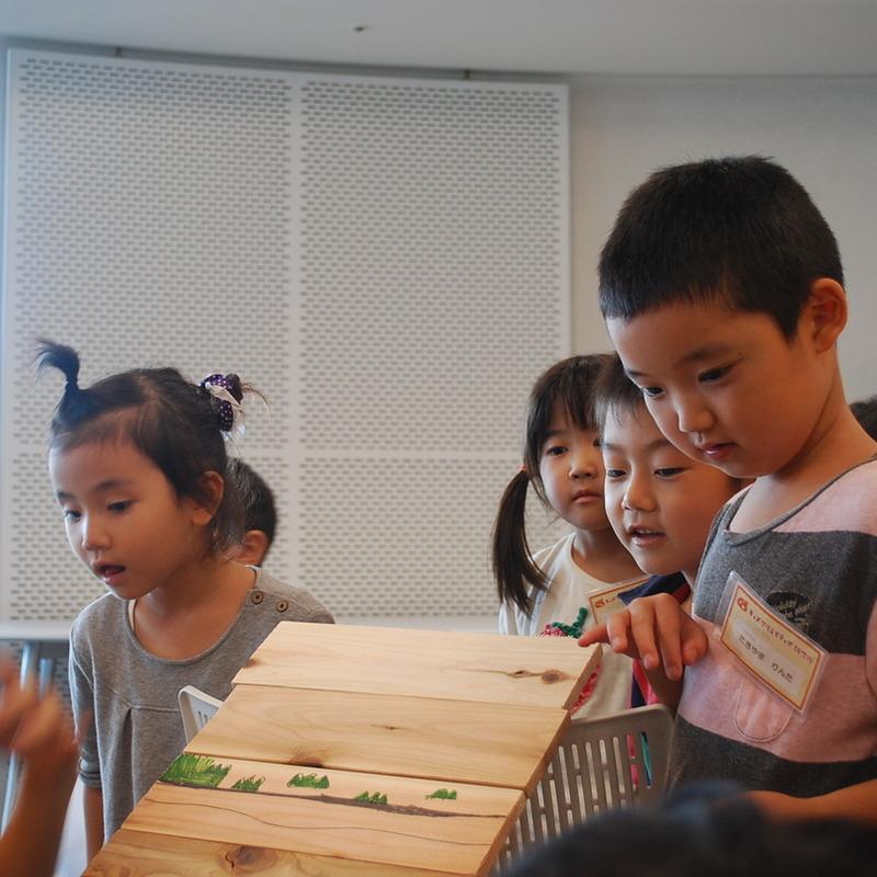 2012年8月26日(日)<br>「ヤスってすべらす」<br>(幼児クラス)in二子玉川