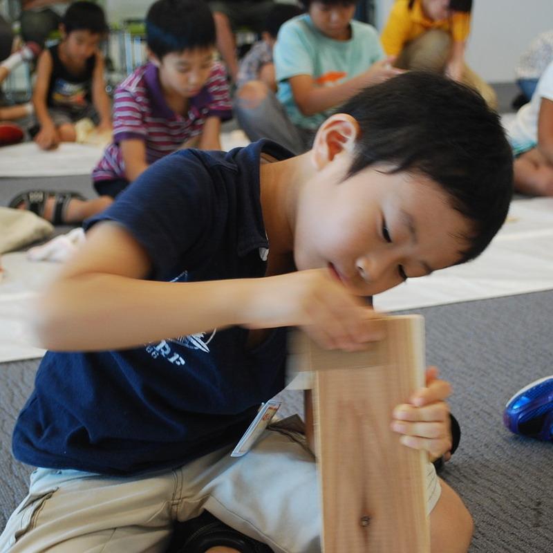 2012年8月26日(日)<br>「すごくヤスって、もっとすべらす」<br>(小学生クラス)in二子玉川