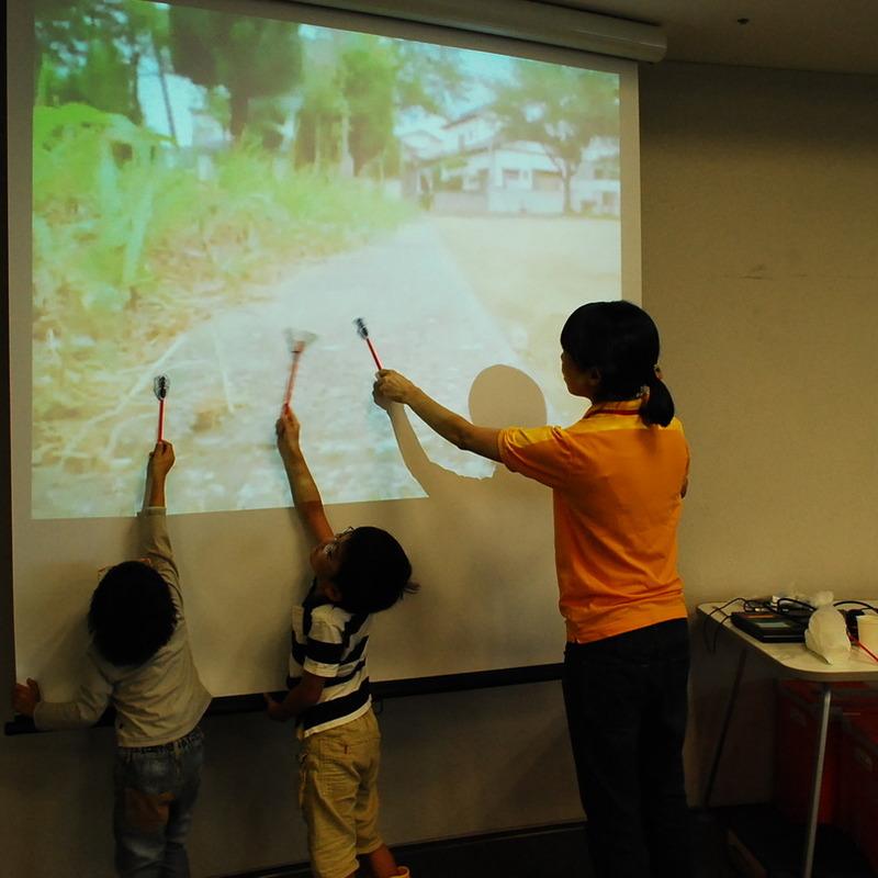 2012年9月23日(日)<br>「むしのきもち」<br>(幼児クラス)in二子玉川