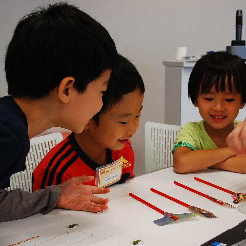 2012年9月23日(日)「むしのきもち」(小学生クラス)in二子玉川
