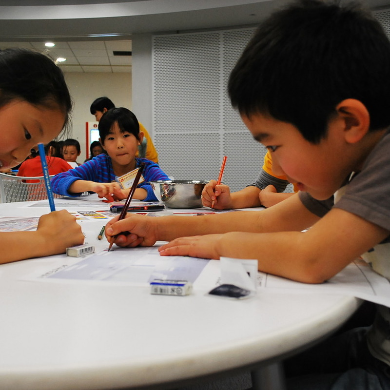 2012年11月25日(日)「いたずら教室」(小学生クラス)in二子玉川