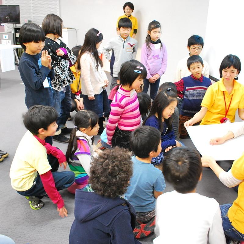 2012年12月23日(日)<br>「ステッチでぬいぬい模様」<br>(小学生クラス)in二子玉川