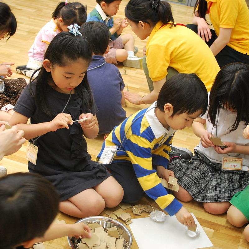 2011年5月4日(日)<br>「研究所の街をつくる」<br>(幼児クラス)in東大