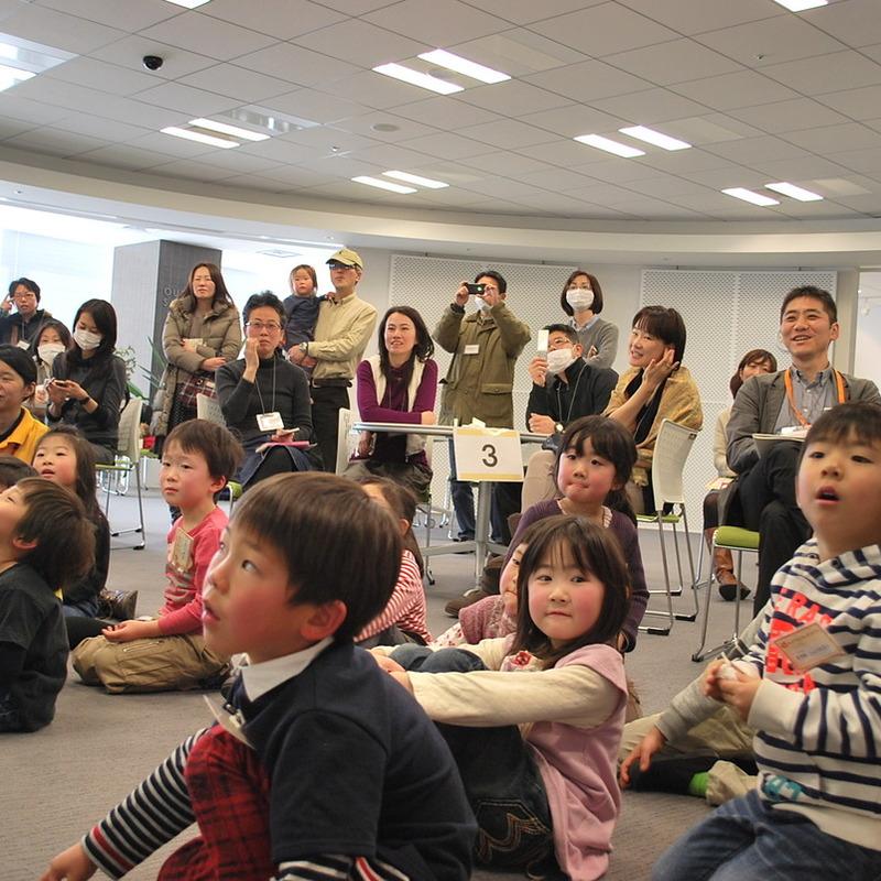2013年2月10日(日)<br>「デジタルえほん」<br>(幼児クラス)in二子玉川