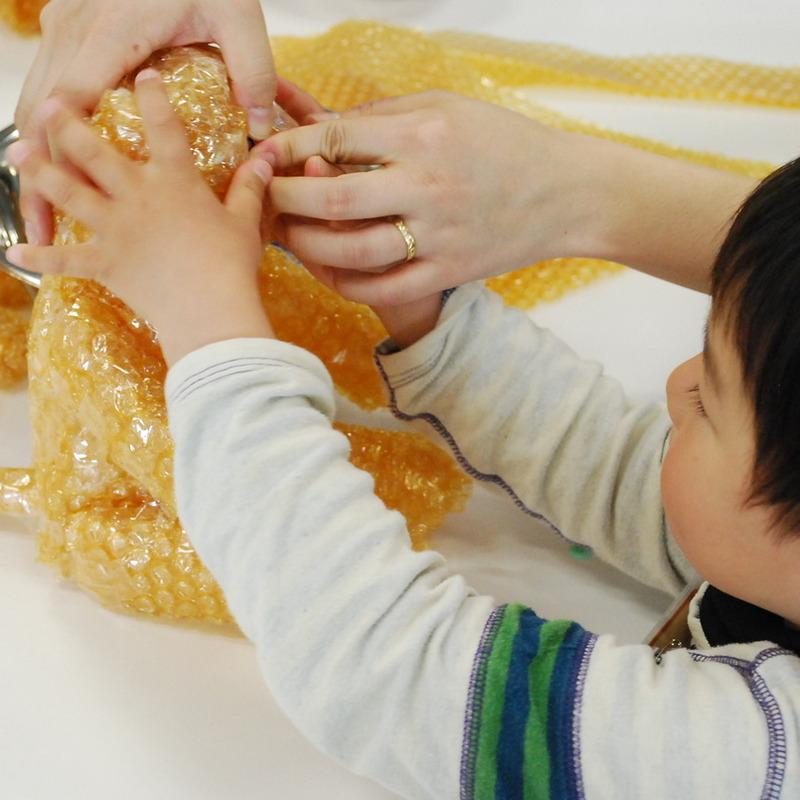 2013年4月14日(日)<br>「ちょっとちがうを感じよう」<br>(幼児クラス)in二子玉川