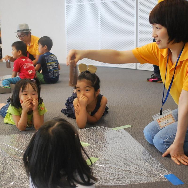 2013年6月23日(日)「じかんの世界であそぶ」(幼児クラス)in二子玉川