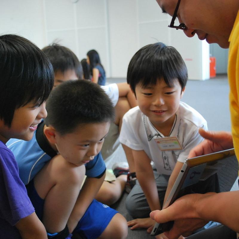2013年6月23日(日)<br>「じかんの世界であそぶ」<br>(小学生クラス)in二子玉川