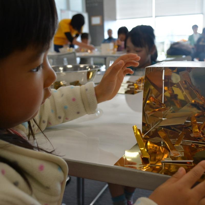2013年12月22日(日)「ミラーボックスであそぶ」(幼児クラス)in二子玉川