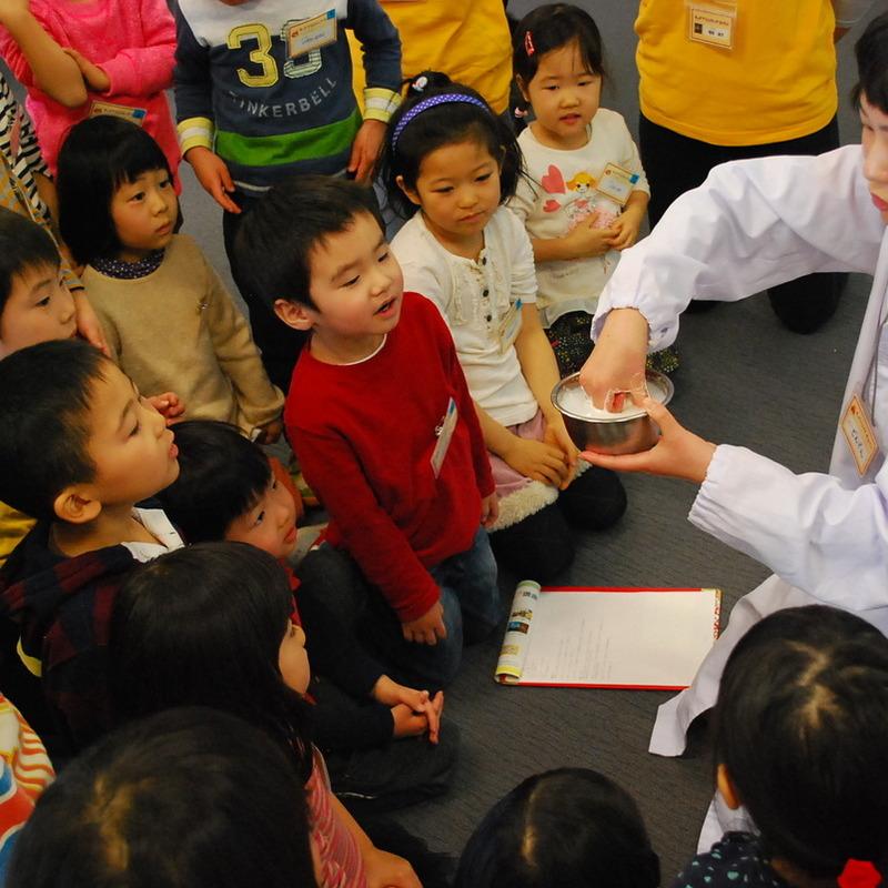 2014年1月19日(日)「ゴムゴムマンとあそぼう」(幼児クラス)in二子玉川