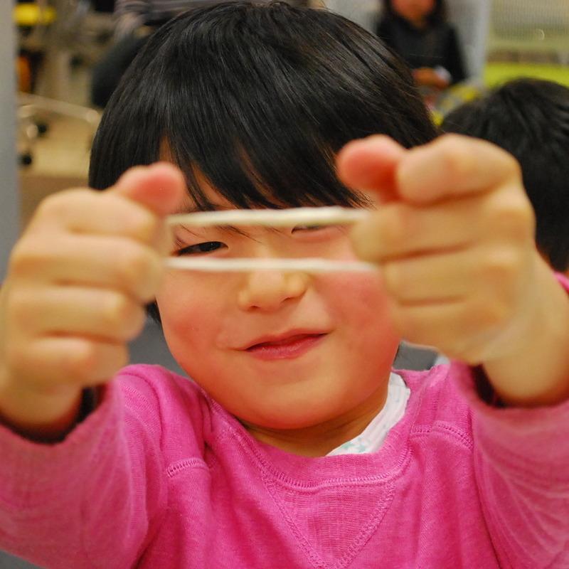 2014年1月19日(日)<br>「ゴムゴムマンとときあかそう」<br>(小学生クラス)in二子玉川