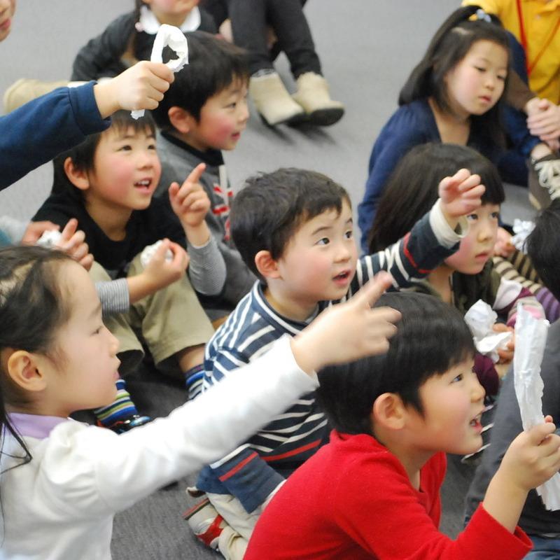 2014年2月23日(日)<br>「デジタルえほん」<br>(幼児クラス)in二子玉川
