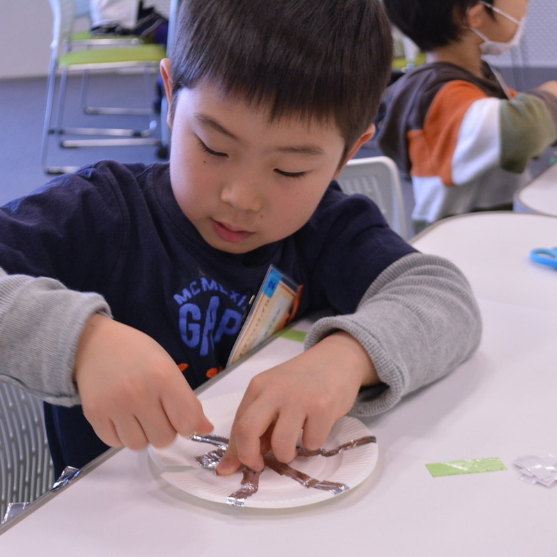 2014年3月23日(日)「アルミホイルでおなおし」(幼児クラス)in二子玉川