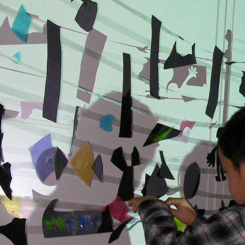 2010年3月27日(土)<br>「ヒカリでつくる」<br>(幼児クラス)in東大本郷