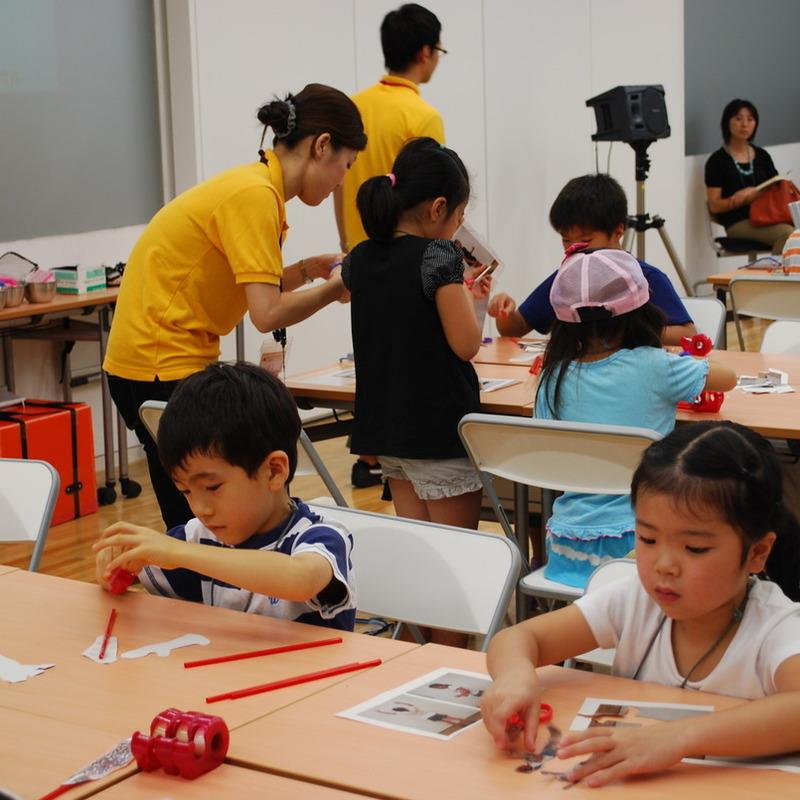 2011年8月29日(月)<br>えほんをつくるワークショップ「スモールワールドストーリー」<br>in東大本郷