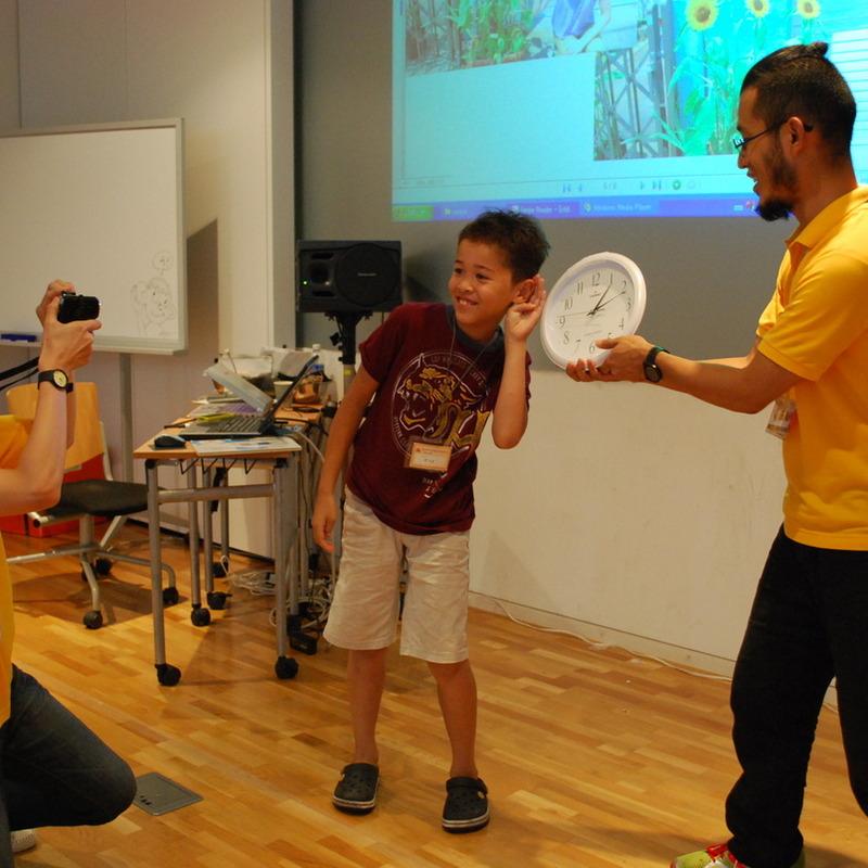 2011年8月31日(水)えほんをつくるワークショップ「おしゃべり世界のデジタルえほん」in東大本郷